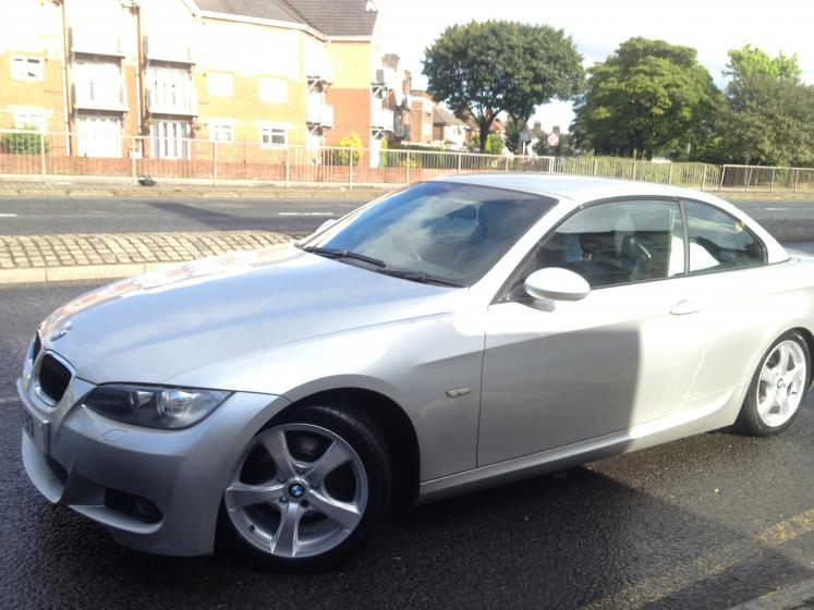 """BMW 3 Series With 17"""" Talig W5 Silver Alloy Wheels and Tyres"""