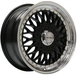 Lenso - BSX (Gloss Black / Mirror Lip)