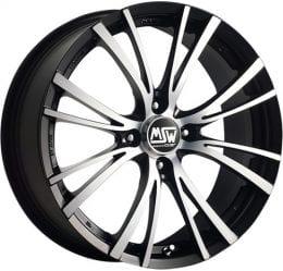 MSW - 20-4 (Matt Black Full Polished)