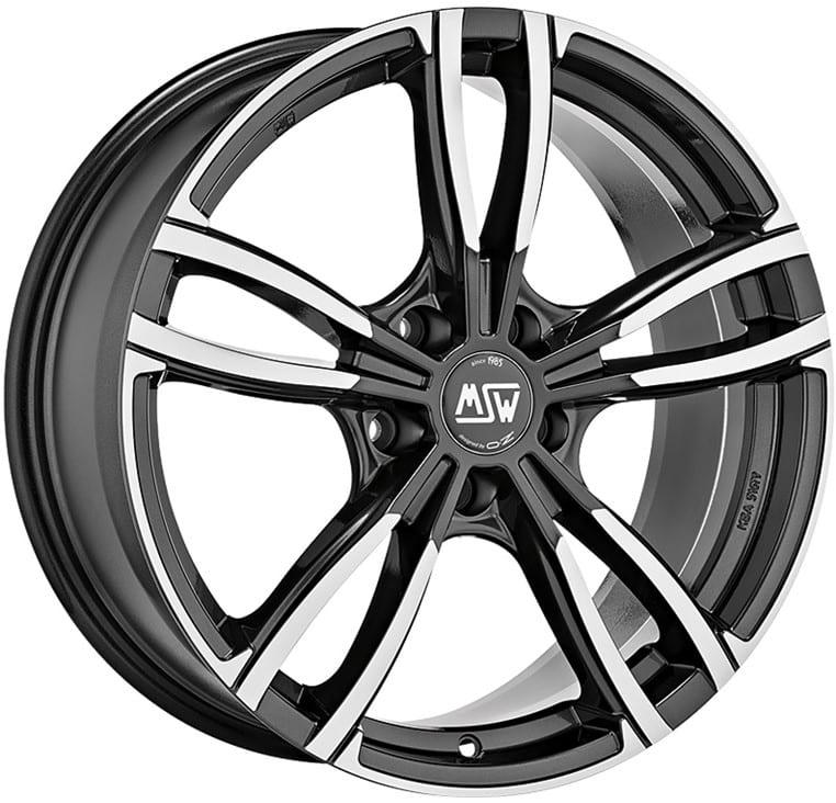 MSW - 73 (Gloss Dark Grey Full Polished)