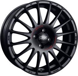 OZ - Superturismo GT (Matt Black Red Lettering)