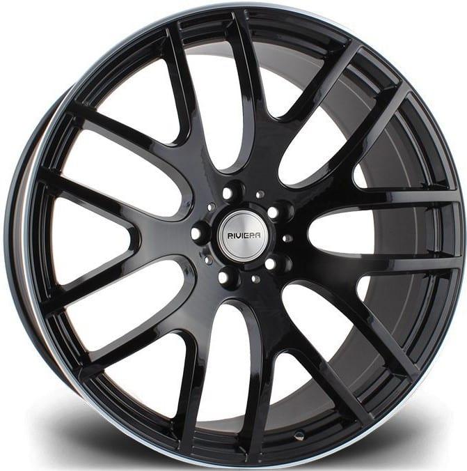 Riviera - RV117 (Gloss Black Polished Lip)