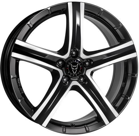 Wolfrace Eurosport - Quinto (Diamond Black / Polished)