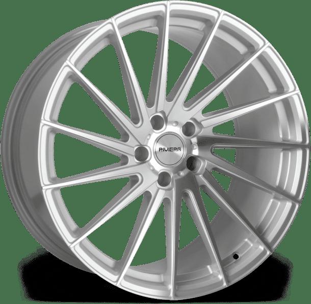 Riviera - RV199 (Satin Brushed Silver Polished)