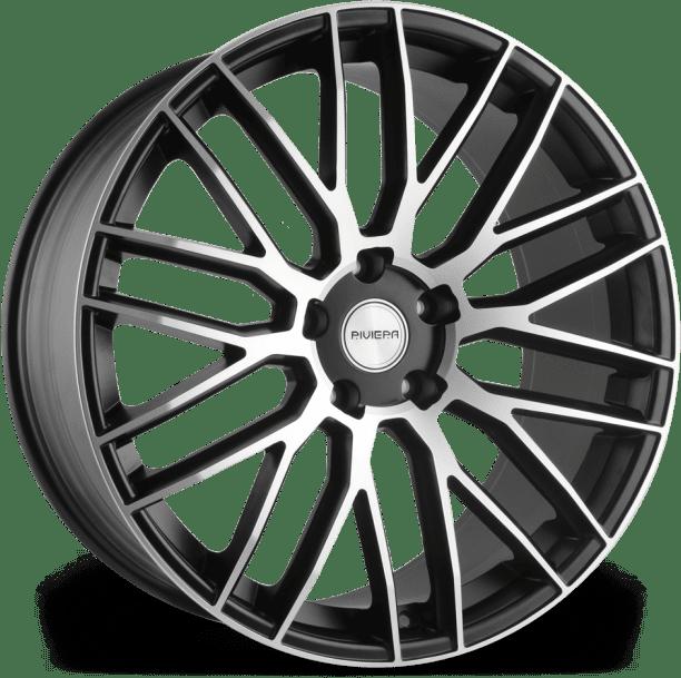 Riviera - RV126 (Matt Black/polished)