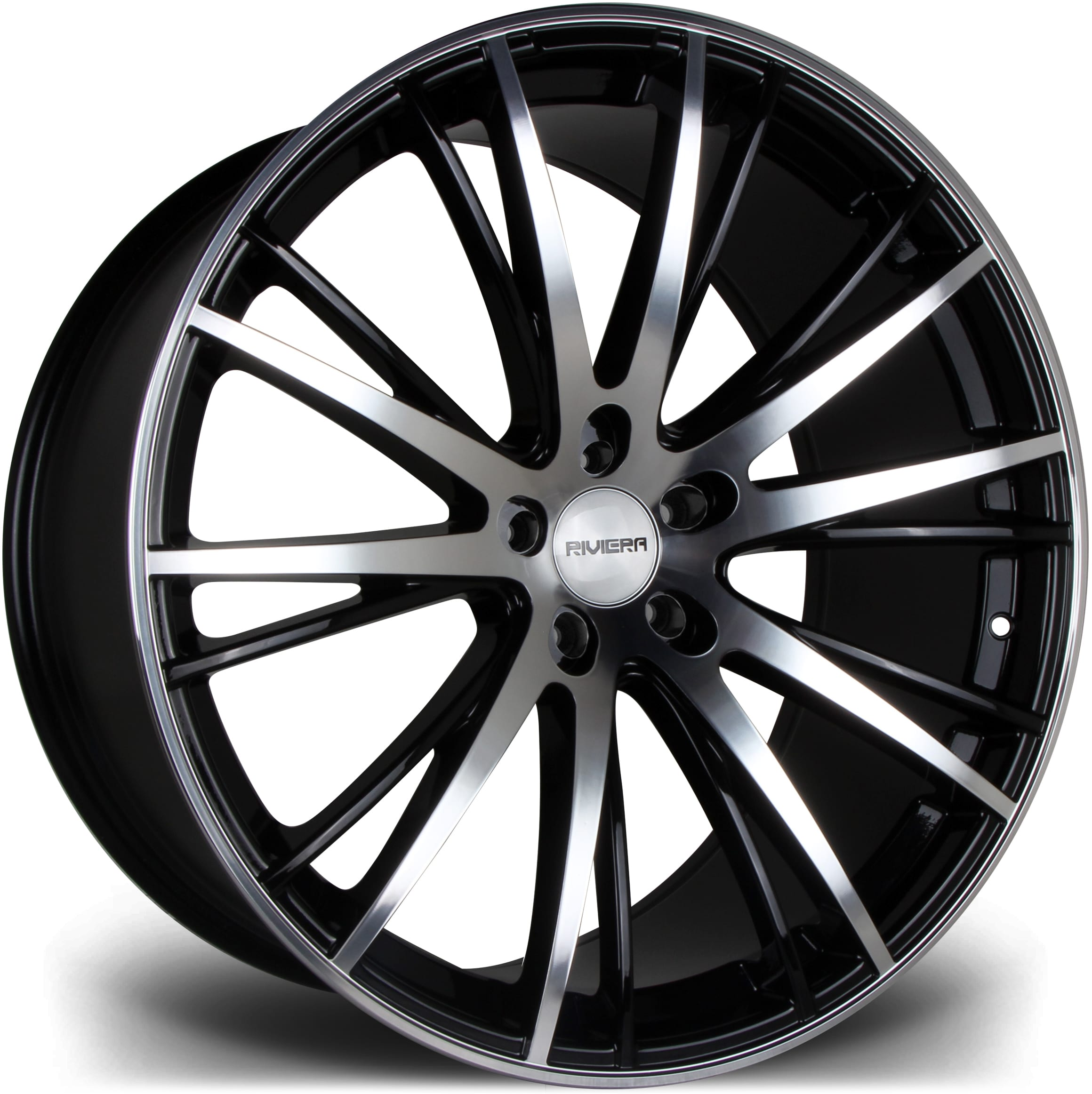 Riviera - RV128 (Black Polished)