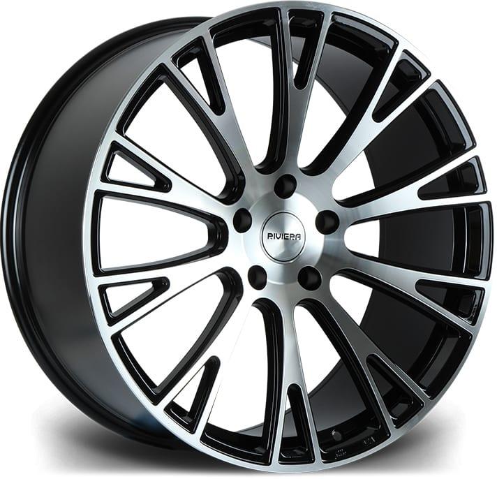 Riviera - RV150 (Gloss Black Milled Edge)