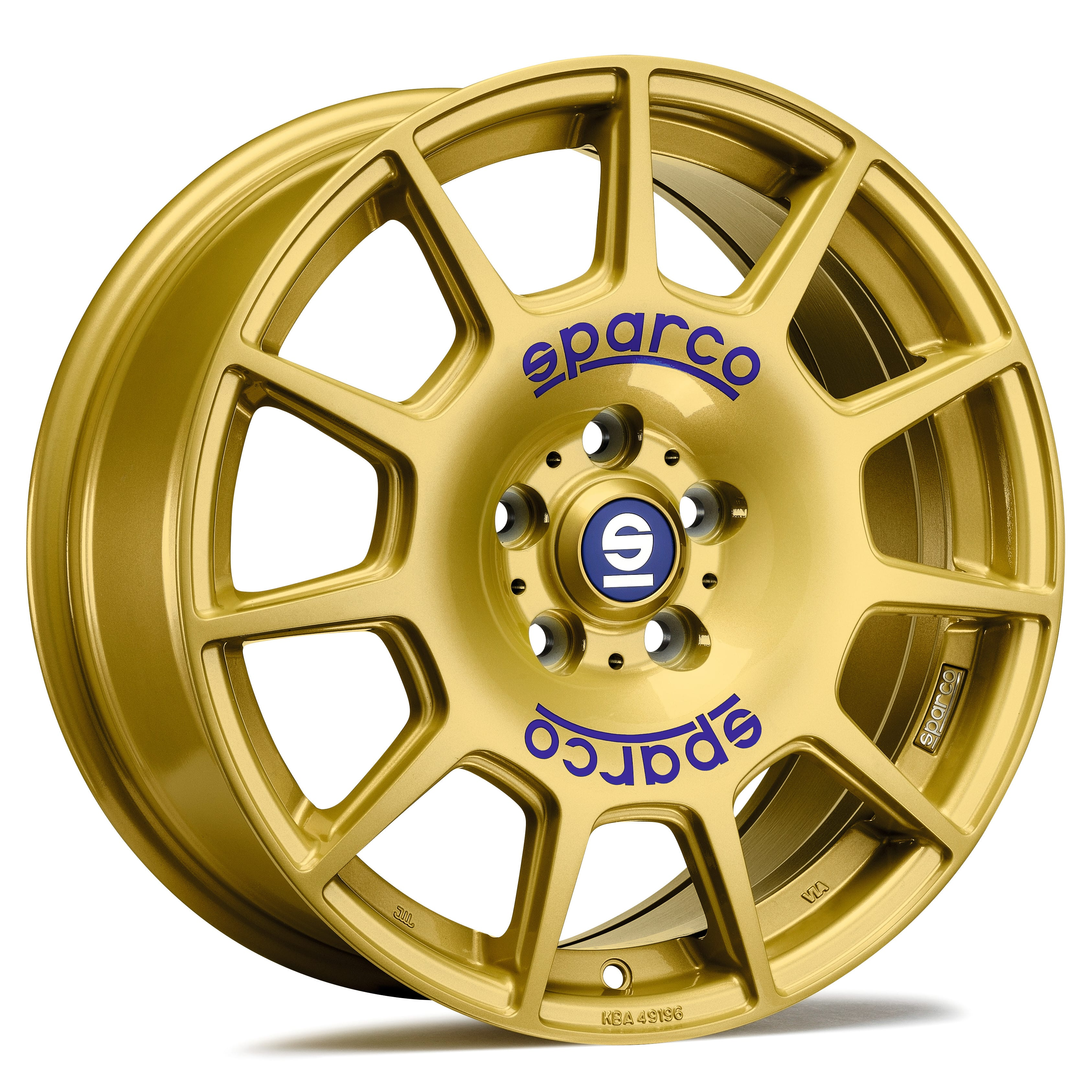 Sparco - Terra (Race Gold Blue Lettering)