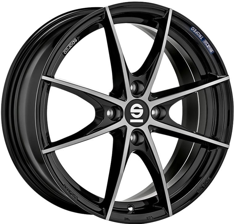 Sparco - Trofeo 4 (Fume Black Full Polished)
