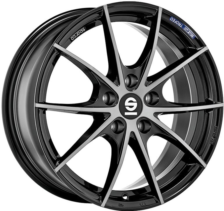 Sparco - Trofeo 5 (Fume Black Full Polished)