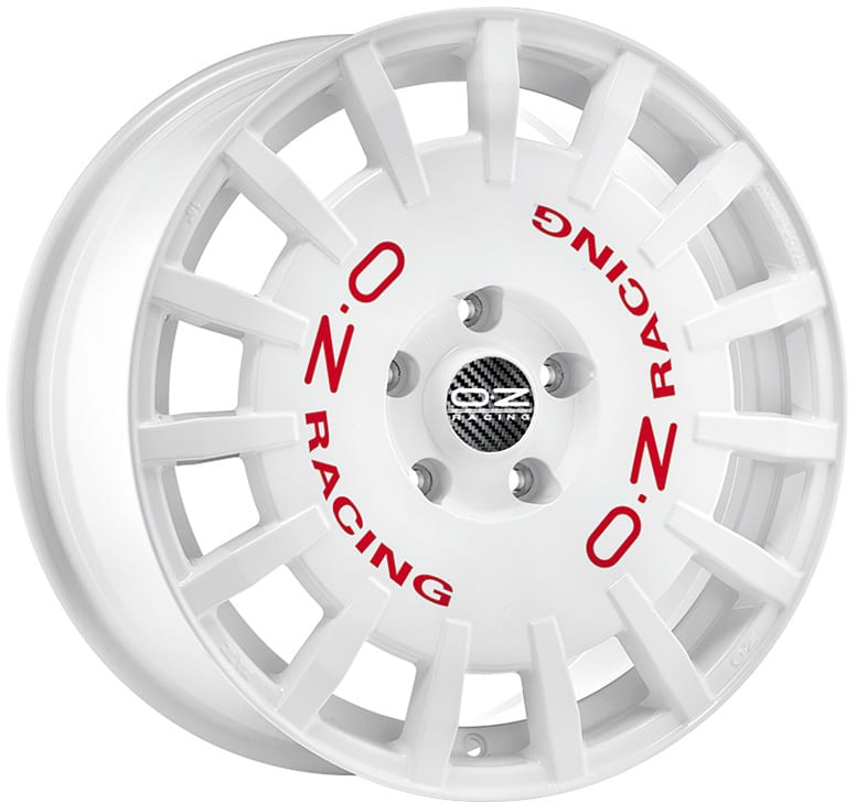 OZ - Rally Racing (White Red Lettering)