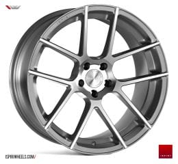 IW Automotive - ISR6 (Satin Silver Machined)