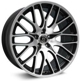 Diewe Wheels - Fina (Black Machined)