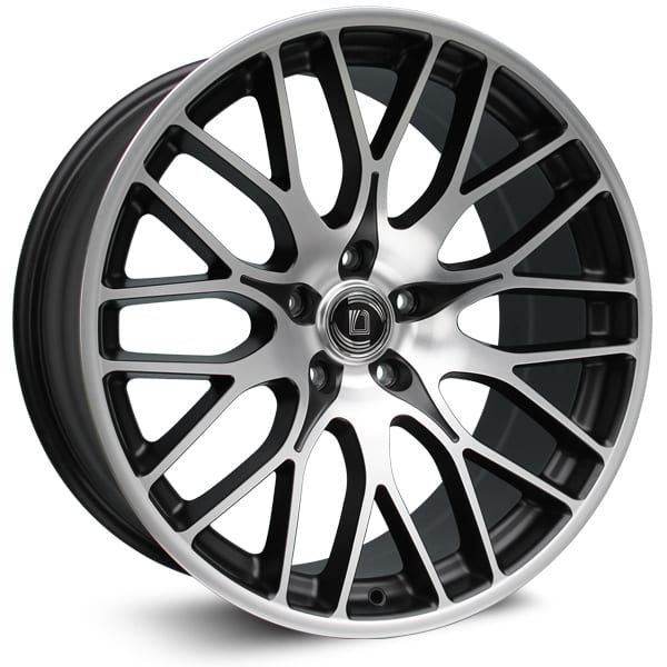 Diewe Wheels - Fina (Black Machined)