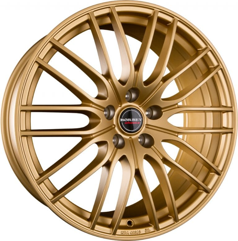 Borbet - CW4 (gold matt)