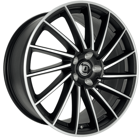Diewe Wheels - Briosa (Nero machined)