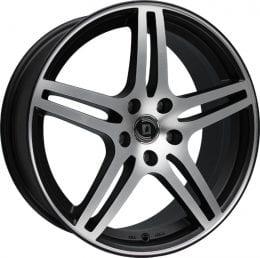 Diewe Wheels - Chinque (Nero machined)