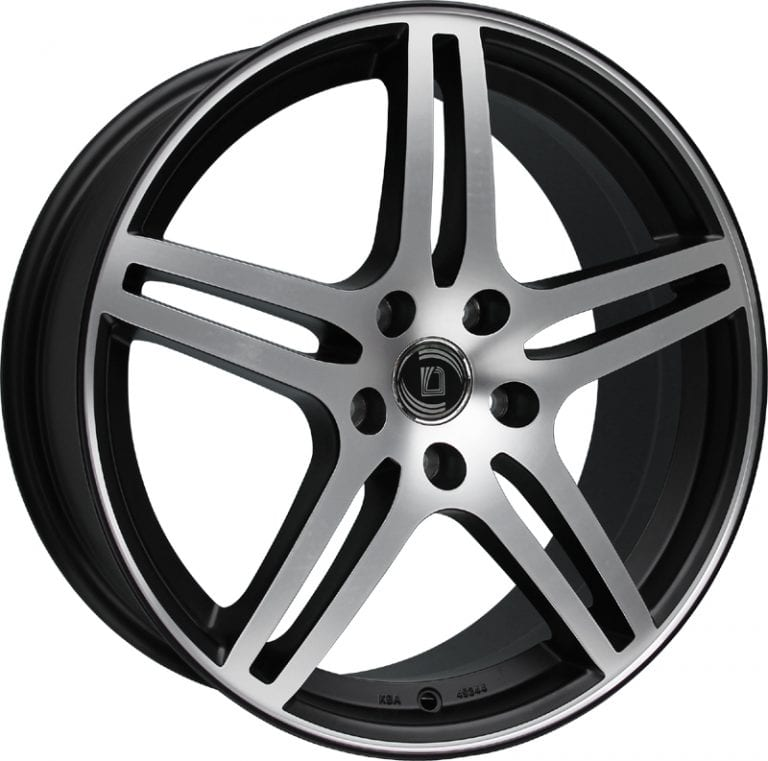 Diewe Wheels - Chinque (Nero machined)