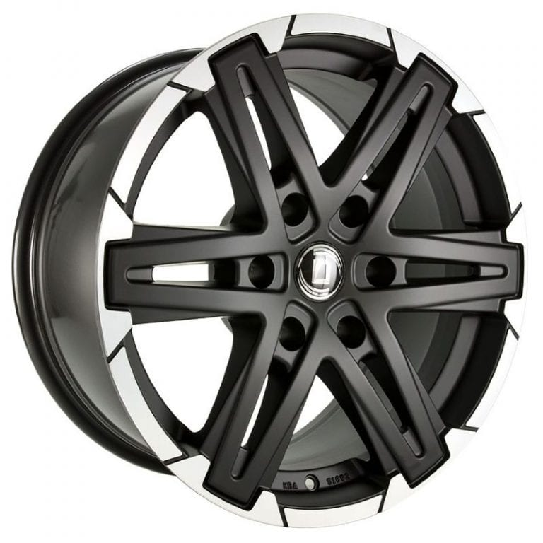Diewe Wheels - Grezzo (Nero machined)