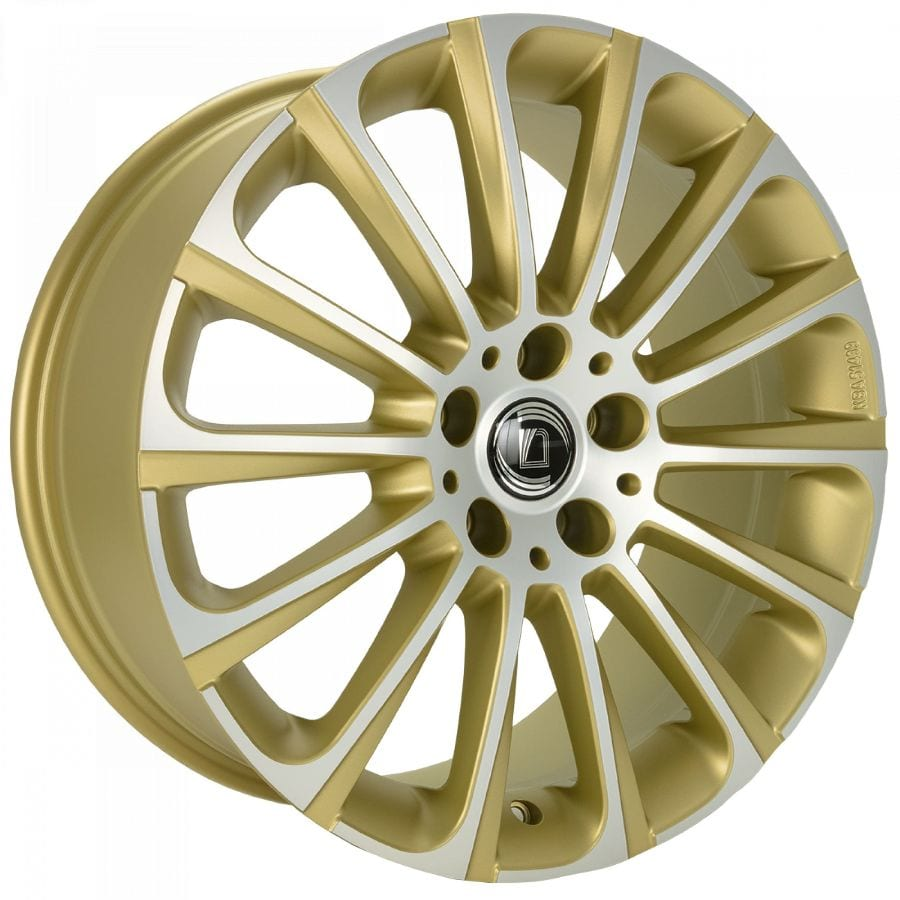 Diewe Wheels - Turbina (gold machined)