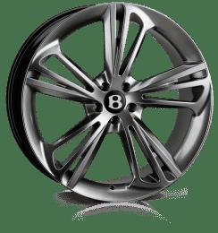 Hawke Wheels - Aquila (Hyper Black (Dark Silver))