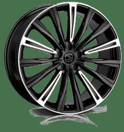 Hawke Wheels - Chayton (Black Highlight)