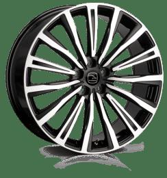 Hawke Wheels - Chayton (Black Polish)