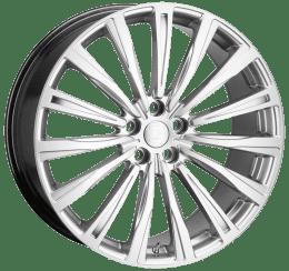Hawke Wheels - Chayton (High Power Silver)