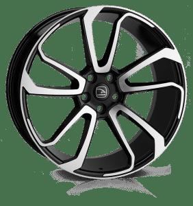 Hawke Wheels - Falkon (Black Polish)