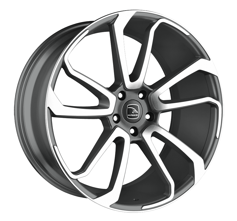 Hawke Wheels - Falkon (Gunmetal Polish)