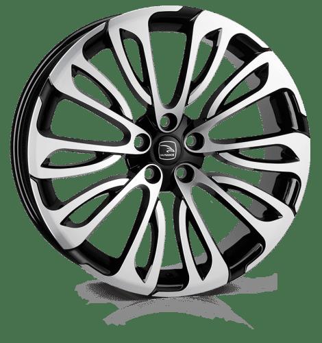 Hawke Wheels - Halcyon (Black Polish)