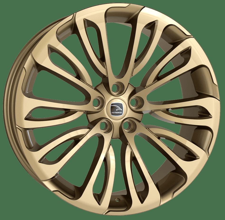 Hawke Wheels - Halcyon (Light Gold)