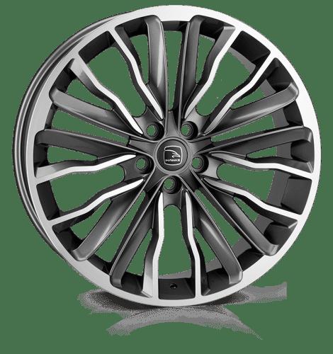 Hawke Wheels - Harrier (Gunmetal Polish)