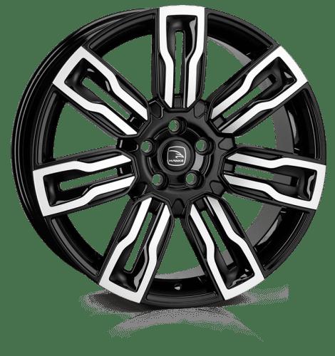 Hawke Wheels - Hermes (Black Polish)