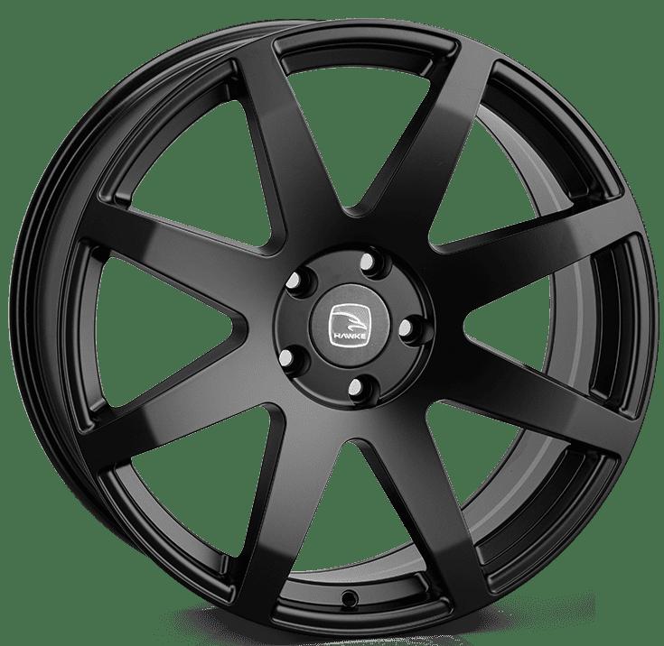 Hawke Wheels - Knox XL (Matt Black)