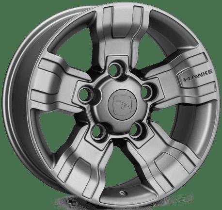 Hawke Wheels - Osprey (Matt Gunmetal)
