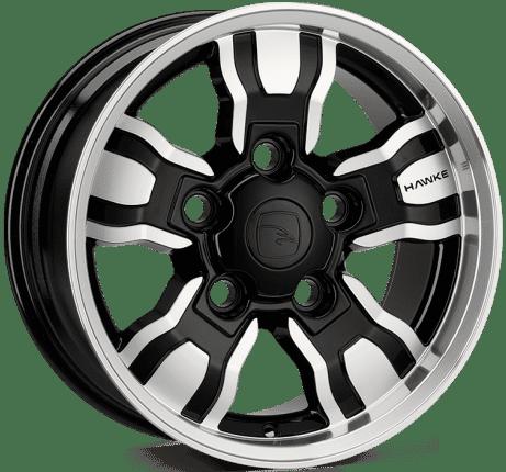 Hawke Wheels - Osprey WT (Black Polish)