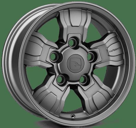 Hawke Wheels - Osprey WT (Matt Gunmetal)