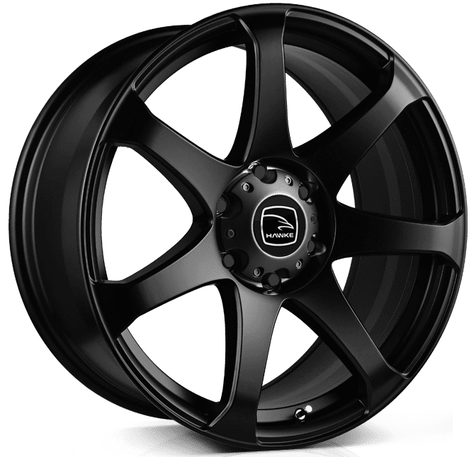 Hawke Wheels - Peak (Matt Black)