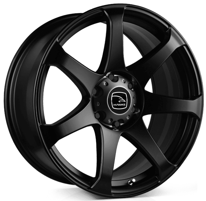 Hawke Wheels - Peak XD (Matt Black)