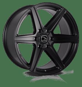 Hawke Wheels - Ridge XD (Matt Black)