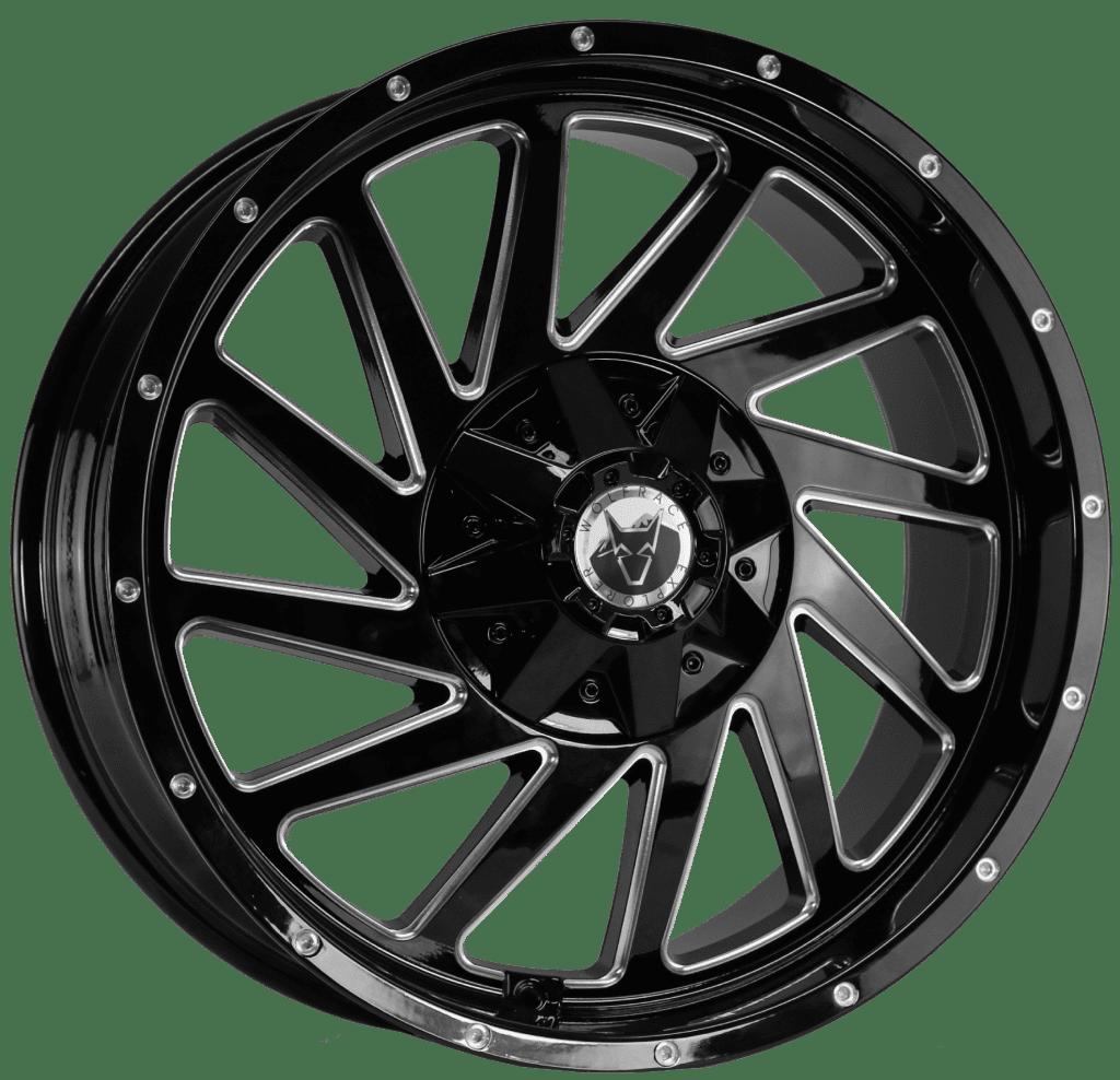 Wolfrace Explorer - Wildtrek (Gloss Black / Polished Windows / Milled rim holes)