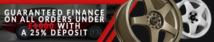 Alloy Wheels Finance Banner