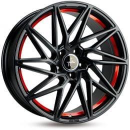 Keskin Tuning - KT20 (Black Painted Red Inside)