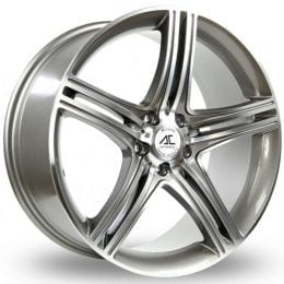 AC Wheels - Hockenheim (Gunmetal Polished)