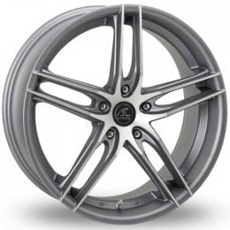 AC Wheels - Shot (Matt Grey Polished)