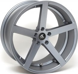 AC Wheels - Star 5 (Matt Grey)
