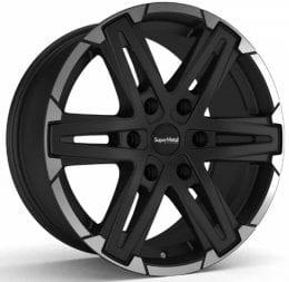 SuperMetal - Compass (mat black rim polish)