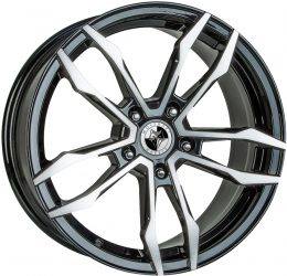 Wolfhart - VT5 (Gloss Black / Polished)
