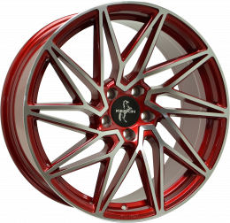 Keskin Tuning - KT20 (Candy Red Front Polish)